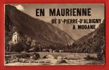 EN MAURIENNE De St PIERRE D'Albigny à Modane. (Carnet 12 Cartes) - France