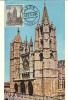 Leon - Catedral (Cachet Du 26.10.1964) - Cartes Maximum