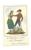 Publicité, Farine Jammet, Les Vieilles Provinces De France - La Gascogne - Publicidad