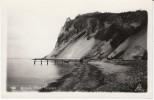 Taleren Denmark, Møn Cliff Mønklint,  On C1950s Vintage Real Photo Postcard - Danemark