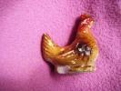 Poule En Platre Hauteur 6.5cm -tres Ancienne- - Non Classés