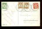 339 Op Fantasiekaart Stempel SCHRIECK Getaxeerd ( Taxe )TX33 + TX34 Met Stempel KEERBERGEN 1934 ( 2136 ) - Lettres
