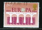 Great Britain 1984 20 1/2p Bridge Issue #1055 - 1952-.... (Elizabeth II)