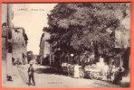 13 - LAMBESC - Avenue D´Aix ( Très Animée ) - Lambesc