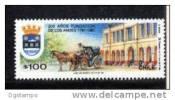 Chile 1994 YT1049 ** Bicentenario Fundación Los Andes: Escudo, Edificio, Coche De Caballos. Arquitectura, Historia, - Cile