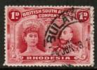 RHODESIA   Scott #  102c F-VF USED - Grande-Bretagne (ex-colonies & Protectorats)