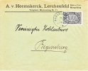 Germany Inflation Single Franking Cover - Germany