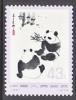 PRC 1113  **  FAUNA  PANDA - 1949 - ... People's Republic