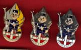 13194-lot De 3 Pin's Differents..gendarmerie.ski - Militaria