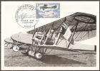 Carte 1er Jour 17/08/1968 1ere Liaison Aerienne Paris-saint-nazaire   (bon Etat) - 1960-69