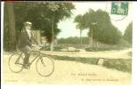 CPA  BEAUVAIS, Je Vous Envoie Ce Souvenir, Cycliste Avec Canotier  4420 - Beauvais
