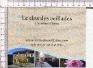 CARTE PUBLICITAIRE   -  Chambres D'Hôtes -   Le Clos Des Oeillades -  CANDAS  -  12 - Non Classés