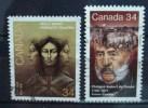 1986 Canada Complete Set Molly Brandt/de Gaspe Used/gebruikt - 1952-.... Regering Van Elizabeth II