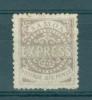 Samoa: 1877/80   Express Stamp    SG17a   6d   Deep Violet   [Perf: 12]        MH - Samoa