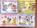ANTIGUA  & BARBUDA  978-85MINT NEVER HINGED SET OF STAMPS OF CHRISTMAS 1986  DISNEY   #  S-016-1-2 - Disney