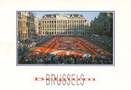 BRUXELLES / BRUSSELS - Grand Place, Tapis De Fleurs / Grote Markt, Bloementapijt - 2 Scans - Piazze