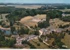 Sainte Fontaine Par Havelange  Vue Aerienne Du Chateau Et Du Village - Havelange