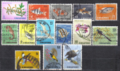 AP176 - SINGAPORE 1962,  14 Valori Della Serie Ordinaria - Singapore (1959-...)