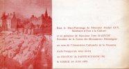 Programme 1975 à Sainte-Suzanne Au Chateau Dans La Mayenne - Programas