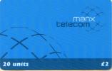 MANX TELECOM-20 UNITS - Isola Di Man