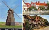 17254   Regno  Unito,   Rottingdean,  The  Old Mill,  The Pond,  Tudor  Cottages,  NV - Non Classificati