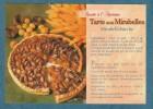 RECETTE A L´ANCIENNE - Tarte Aux Mirabelles  - 10.5 X 15 - EUROP - Recipes (cooking)