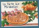 CARTE RECETTE - La Tarte Aux Mirabelles  - 10.5 X 15 - ESTEL - Unclassified