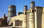 17278   Uzbekistan (USSR),  Khiva,  Ichan-Kala The Old Part Of The  City,  The Kunya-arq Citadel And The Kalta-Minar, NV - Uzbekistan