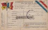 FRANCHISE MILITAIRE - CORRESPONDANCE MILITAIRE - (voir Scan Recto-verso). - Cartes De Franchise Militaire