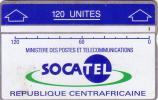 CENTRAFRICAINE LANDIS ET GYR SOCATEL 120U N° 207A.....UT - Central African Republic