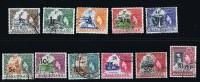 BASUTOLAND 1961  Overprintd Elizabeth II Definitives  Complete Set Used - Basutoland (1933-1966)
