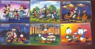 #  S-314  MINT NEVER HINGED SET OF STAMPS OF DISNEY  ( GRENADA  & GR  1813-8 - Disney