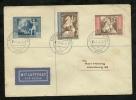 GERMAN OFFICIAL MAIL ITALY ADRIA 1944, GOERZ B209-B211 - Storia Postale