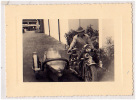 AK MOTORRÄDER MOTORCYCLE  FOTO CORSO ZAGREB KROATIEN  FOTOGRAFIE OLD POSTCARD - Motos