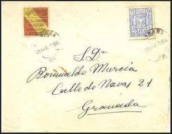 España 1937. Correo Interior De Granada. - 1931-Hoy: 2ª República - ... Juan Carlos I