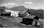 Belalp 1: On Brig. Englische Kapelle U. Gr. Aletschgletscher 1938 - VS Valais