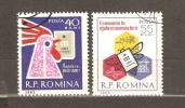 ROMANIA 1962 - SAVING DAY - CPL. SET - USED OBLITERE GESTEMPELT - 1948-.... Républiques