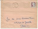 Envellope Obliteration Mécanique OISE 1961  SENLIS . - Marcophilie (Lettres)