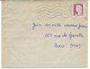 Envellope Obliteration Mécanique 1961  Montpellier Centre  Herrault .envoyé Par Roselyne Gay. - Marcophilie (Lettres)