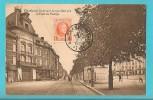 BELGIO CHARLEROI BOULEVARD JACQUES BERTRAND ET PLACE DU MANEGE CARTOLINA FORMATO PICCOLO - Charleroi