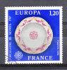 FRANCE / 1976 / Y&T N° 1878 : Europa (Porcelaine De Sèvres) - Choisi - Cachet Rond - Gebruikt