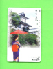 JAPAN - Magnetic Phonecard/Geisha/Woman In Traditional Dress - Japan