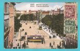 LETTONIA RIGA CARTOLINA FORMATO PICCOLO VIAGGIATA NEL 1926 - Lettonia