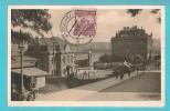 REPUBBLICA CECA PRAGA  NUSLE KRA'L VINOHRADY CARTOLINA FORMATO PICCOLO VIAGGIATA NEL 1926 - Czech Republic