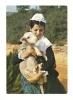 Cp, 13, Aix-en-Provence, L'Escolo De Lar, Jeune Pastourelle, Voyagée 1973 - Aix En Provence