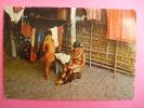 CP Indienne De Guyane Nue Seins Nus Voyagé 1986 - Guyane