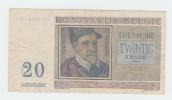 Belgium BELGIQUE 20 Francs 3-4- 1956 VF CRISP Banknote P 132b 132 B - Zonder Classificatie