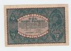 Poland 1/2 Marki 1920 VF CRISP Banknote - Poland
