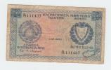 Cyprus 250 Mills Banknote 1980 G-VG P 41c - Chypre
