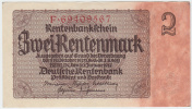 Germany 2 Rentenmark 1937 AUNC CRISP P 174b 174 B - [ 4] 1933-1945 : Third Reich